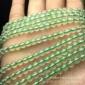 天然水晶葡萄石长链散珠半成品批发 支持一件代发 招代理